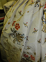 Silk Embroidered Skirt from Springhill Costume Collection